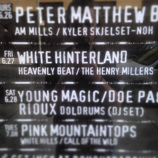 Come out tonight and see us play with @WhiteHinterLand + @HeavenlyBeatny at @RoughTradeNYC!!! New songs, special guests and live animation!!!! #roughtrade #williamsburgmusic